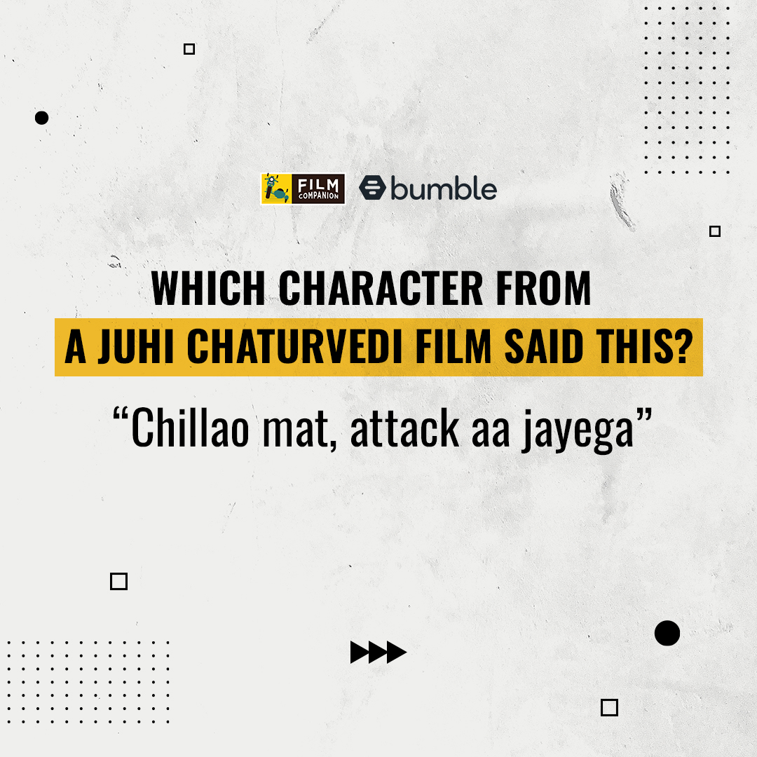 #FCFirstMovers Can you guess which character said this dialogue and in which film? Tell us in the comments below! #MakeTheFirstMove @bumble #BumblePartner