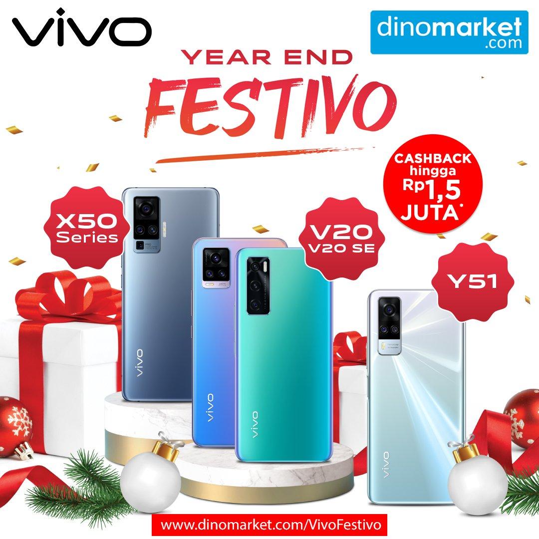 YEAR END FESTIVO! Yuk Buruan beli smartphone Vivo kesukaan kalian dengan diskon higga 1,5 JUTA, langsung klik disini  . Lebih mudah tanya-tanya dan belanja melalui chat whatsapp di nomor 0811-11-3466. Happy Shopping All . #Vivo #2021PakeVivo