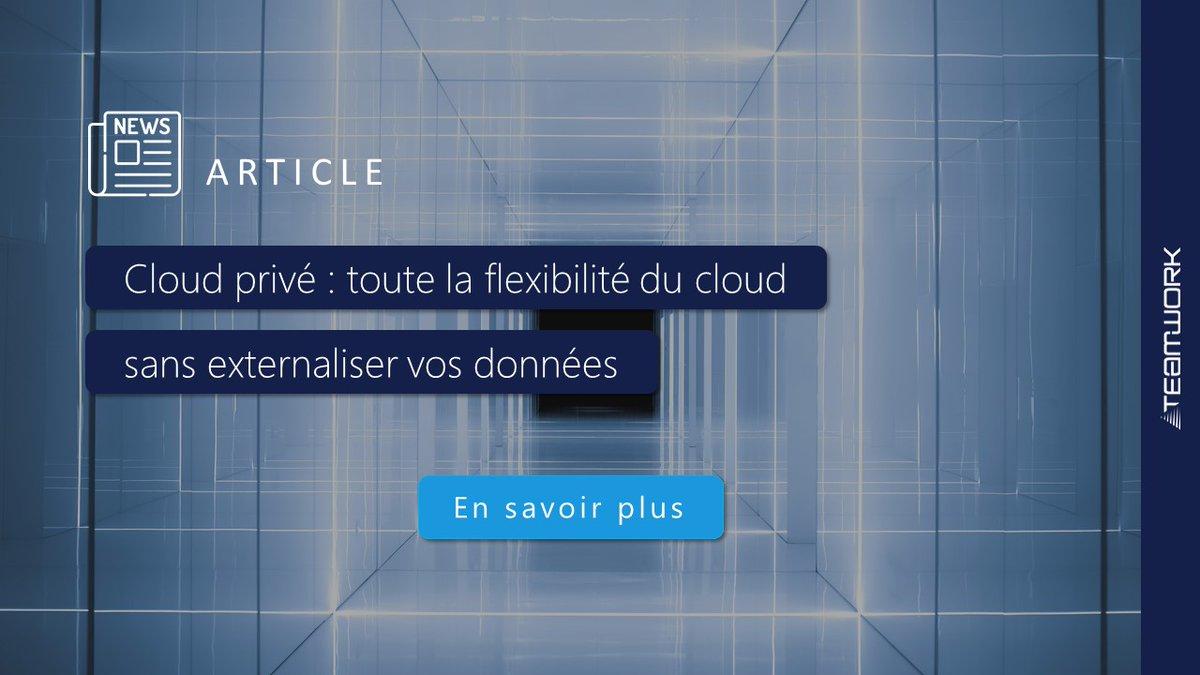 Image for the Tweet beginning: ☁ Comment bénéficier des avantages