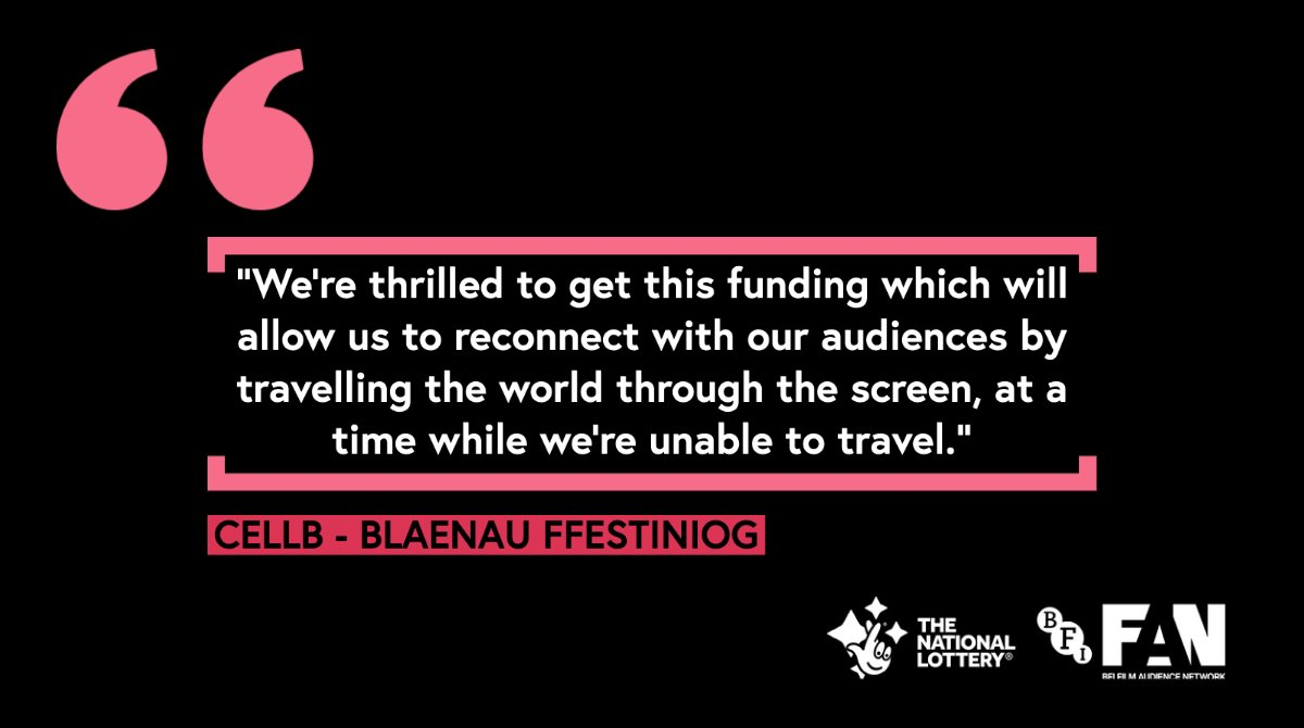 Following on from news of our #BFIFAN Exhibition Fund awards in #Wales, find out how #NationalLottery @BFI  funds are supporting exhibitors UK wide, with awards totalling over £750k: #BFIIndustry