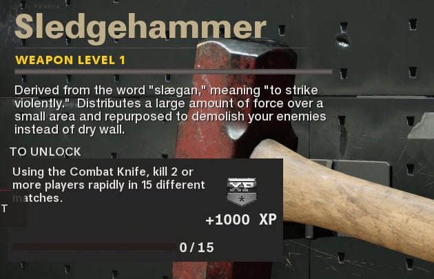 Sledgehammer Black Ops Cold War