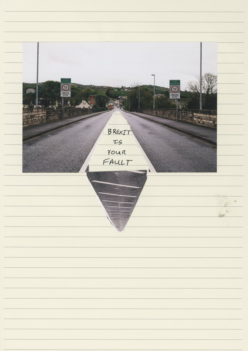 A TIME OF UNCERTAINTY Participatory Talk by  @TristanPoyser  29 DEC at 7pm Zoom  Book by the 16th to receive a pack by post which will enable them to contribute to this ongoing project about the Irish border & Brexit  Info & to book - https://t.co/GY1wjeKWdb https://t.co/7GfW9h1LIC
