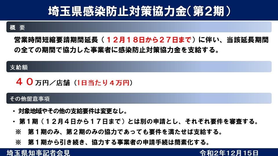 金 埼玉 県 感染 防止 対策 協力