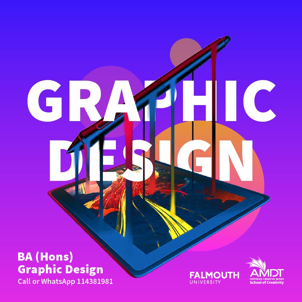 𝗚𝗲𝘁 𝗮 𝗖𝗿𝗲𝗮𝘁𝗶𝘃𝗲 𝗖𝗮𝗿𝗲𝗲𝗿 𝗶𝗻 𝗴𝗿𝗮𝗽𝗵𝗶𝗰 𝗱𝗲𝘀𝗶𝗴𝗻 𝗮𝗻𝗱 𝘃𝗶𝘀𝘂𝗮𝗹 𝗰𝗼𝗺𝗺𝘂𝗻𝗶𝗰𝗮𝘁𝗶𝗼𝗻.  Visit - https://t.co/0CzwMKAeon  📞 Call or WhatsApp us at 114381981   #CreativityStartsHere #WeAreAMDT #Creativity #GraphicDesignDegree #SriLanka #Maldives https://t.co/s8ybBcMBE2