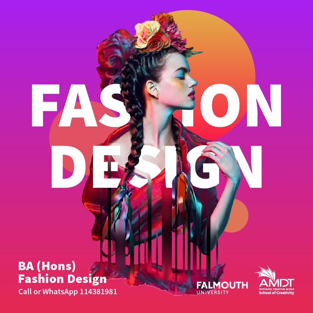 𝗚𝗲𝘁 𝗮 𝗚𝗹𝗼𝗯𝗮𝗹 𝗖𝗿𝗲𝗮𝘁𝗶𝘃𝗲 𝗖𝗮𝗿𝗲𝗲𝗿 𝗶𝗻 𝗙𝗮𝘀𝗵𝗶𝗼𝗻 𝗗𝗲𝘀𝗶𝗴𝗻.  Visit- https://t.co/1FE6BNlDW4  📞 Call or WhatsApp us at 114381981   #CreativityStartsHere #WeAreAMDT #Creativity #FashionDesignDegree #Animation #SriLanka #Maldives https://t.co/B0Uc6PeVPR