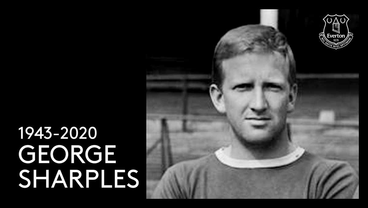 """Everton on Twitter: """"Everyone at Everton Football Club is saddened to learn  of the passing of our former player George Sharples. George played 11 times  for the Blues between 1960 and 1964"""