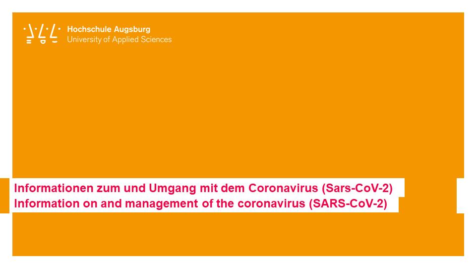 Bewerbung An Der Hochschule Augsburg Bachelorstudiengange