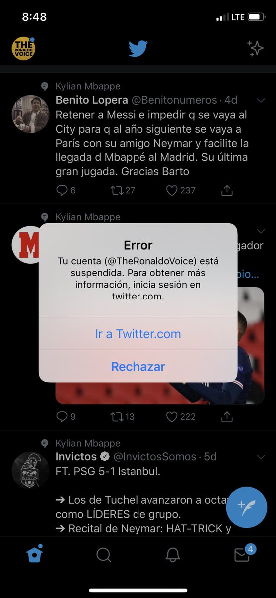 My old account @TheRonaldoVoice is suspended !!!!  🙏 Please everyone RT to find mutuals!  @cr7raprhymes @CRonaldoNews @Jay_RMA @TotalElBicho @GreatWhite_9 @Madridi7ii @SF7_1_5 @prfootbaII i need your help!!!   Thank you so much guys 🤲❤️
