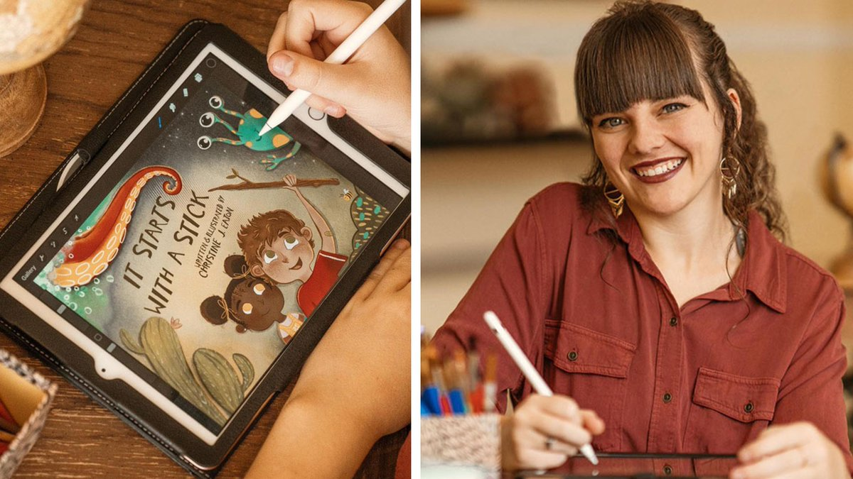 STUDENT SPOTLIGHT: Christine J. Eaton '21, a Providence student, shares her journey to writing and illustrating a children's book:  #ProvidenceChristianCollege #ChristianCollege #Christian #Author #Illustrator #Book #Art #writer #StudentSpotlight
