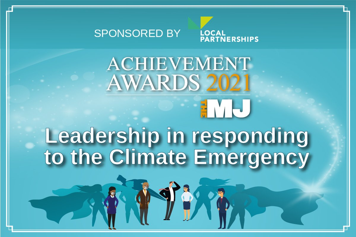 RT @TheMJAwards Does your local authority demonstrate leadership by embracing green recovery & keeping climate emergency at the heart of their agendas? 🌎🌳 Let us know - Enter the #MJAwards21 Leadership in responding to a Climate Emergency award sponsored by @LP_localgov https://t.co/depEmsRIr1