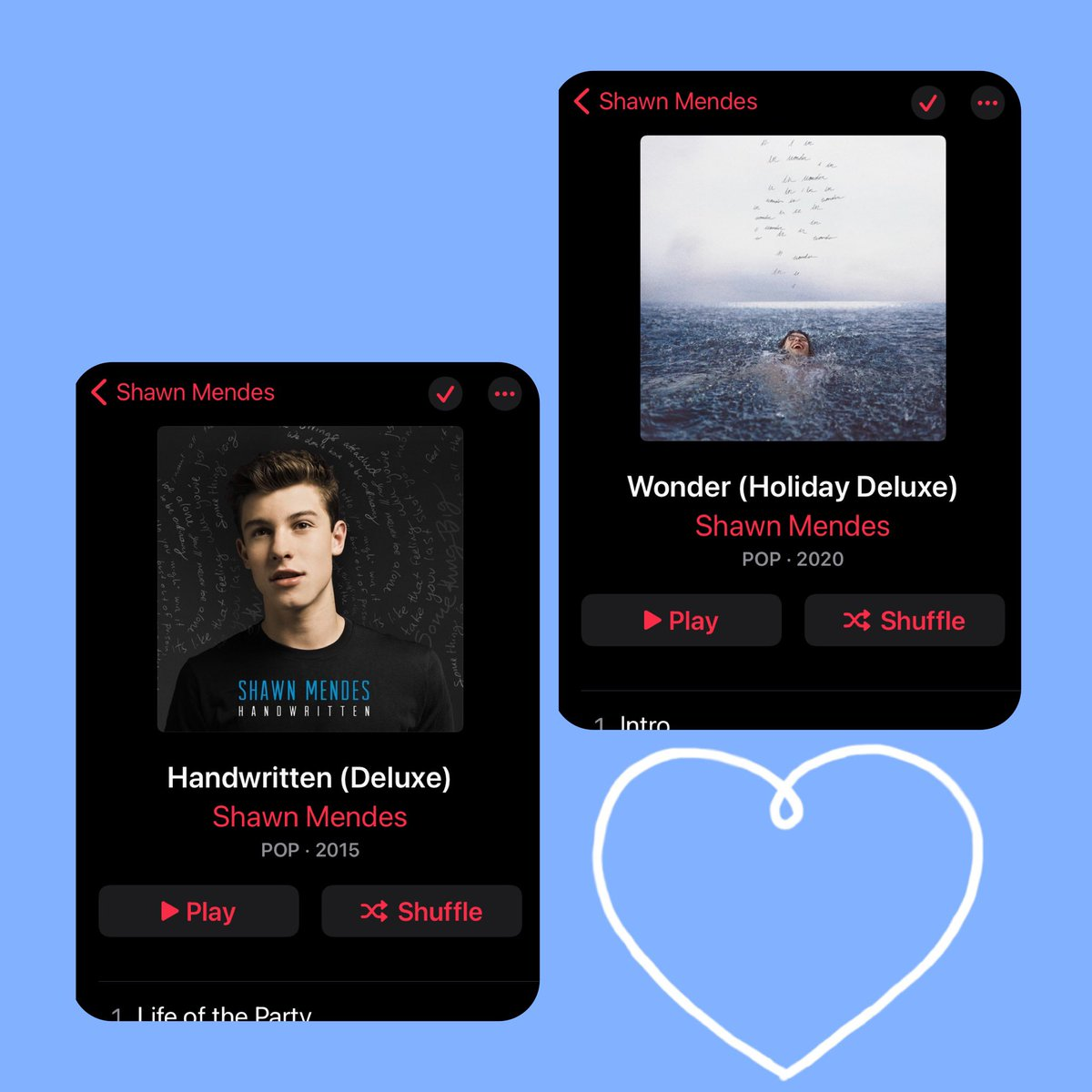 I am SOO proud of you Shawn i have been listening to your songs since day one i love the album so much I listen to the album everyday day. 305 makes my heart glow THANKS for this OUTSTANDING album @ShawnMendes #ShawnMendes #WONDER #WONDERTHEEXPERIENCE @ShawnAccess ❤️❤️❤️❤️❤️❤️