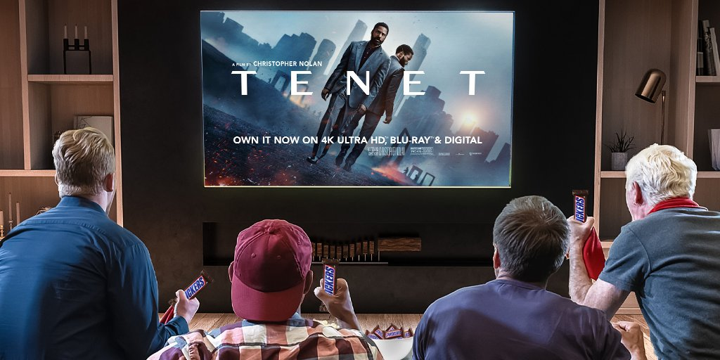 #sweepstakes To watch a mind-bending film, maybe you'll need a SNICKERS. RT for a chance to win a $250 gift card or a digital movie of @TENETFilm No Purch. Nec 50 US/DC 18+. Ends 12/17/20 11:59pm. Rules:   WINNERS MUST REDEEM DIGITAL MOVIE OFFER BY 6/30/21