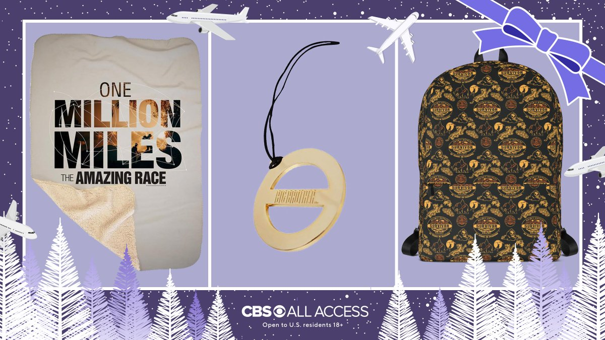🌏 GIVEAWAY ALERT 🌍 Race into the new year with #AmazingRace, #BigBrother, & #Survivor must-haves.  To enter, do all: 1. Follow @AmazingRaceCBS, @SurvivorCBS, & @CBSBigBrother 2. Retweet this post 3. Comment 🏃🏿♀️ on this post  Rules: