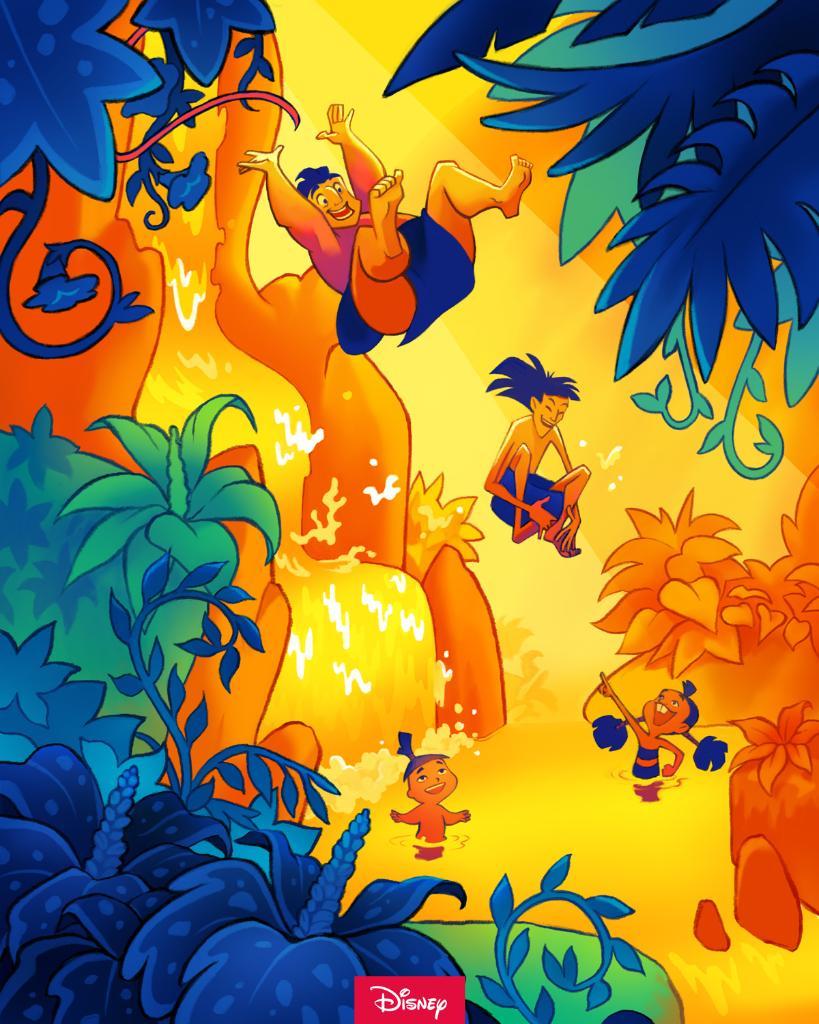 Kuzco, l'Empereur Mégalo [Walt Disney -2001] - Page 6 EpTB4OjXUAMXIUv?format=jpg&name=medium