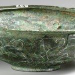 Image for the Tweet beginning: #Bronze #Etruscan #LateGeometric #Kylix