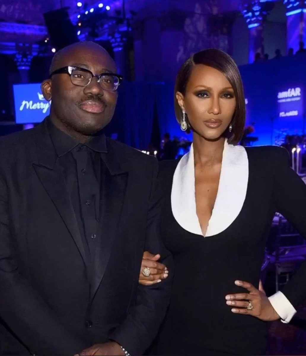 CONGRATS to my dearest friend @edward_enninful OBE who has been promoted to European Editorial Director of all owned and operated European editions of Vogue, which includes the UK, France, Italy, Germany and Spain. @britishvogue @condenast #EdwardEnniful #BlackExcellence