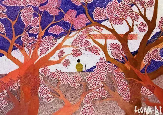 Brindille On Twitter Hana Bi Painting By Takeshi Kitano Japanese B 1947