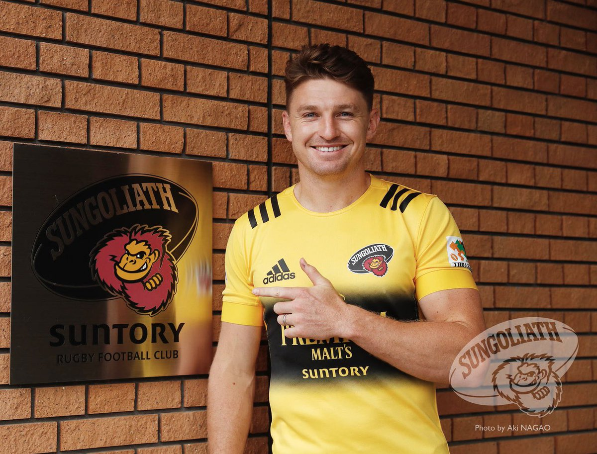 Love being back in Japan and with my new team @sungoliath for the Japanese Top League 📸 @nagaobake https://t.co/ILzOuqEK9C