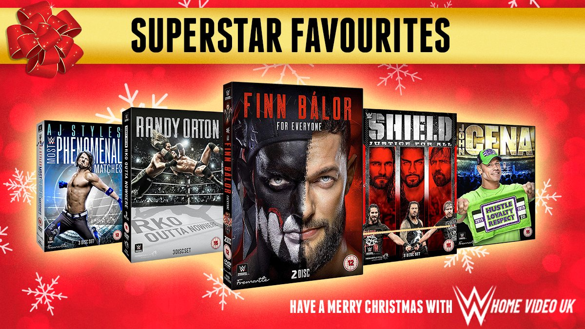 FOLLOW & RT for a chance to #WIN our final #Christmas #prize bundle! Featuring some of our favourite Superstars! #Competition ends Monday 21st December