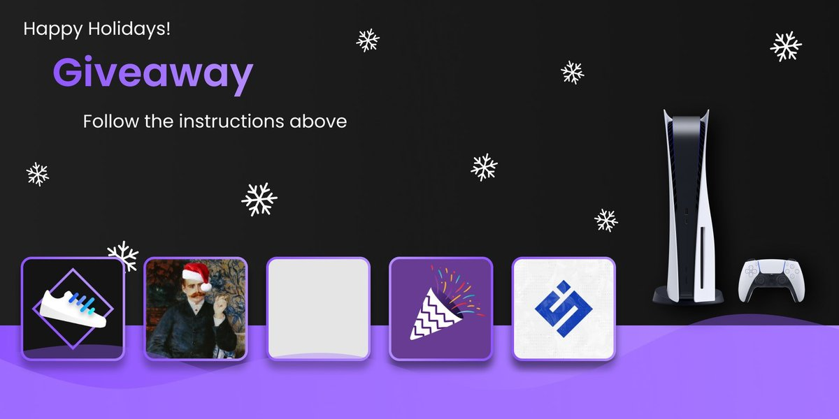 🔥 PS5 GIVEAWAY 🔥  ▶️ Follow @SteadySole x @ResellCalendar x @ThePointsParty x @Resonant x @spieltimes   To enter: ✅ Follow all accounts ⏰ Turn on notifs for all accounts 👥 Tag a friend below 🔄 RT ❤️ Like  🎁 Prize: PS5 Disc Edition  Ends in 24 hours. Good Luck! 🥂