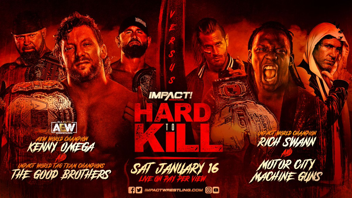 """Kenny Omega Match Announced For Impact Wrestling """"Hard To Kill"""" PPV"""