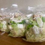凄く賢いアイデア!白菜をまとめ買いしたら、こういう風に保存をしておくとお鍋に使うとき便利!