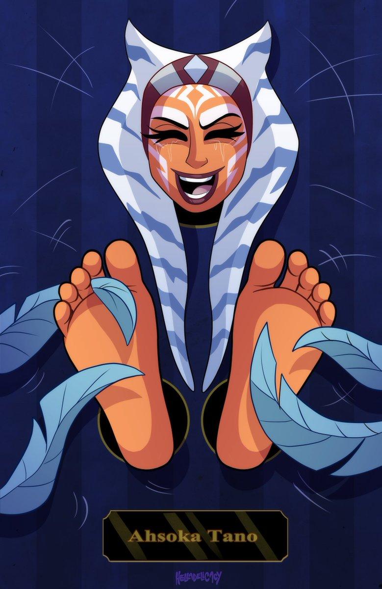 Feet ahsoka tano How Old