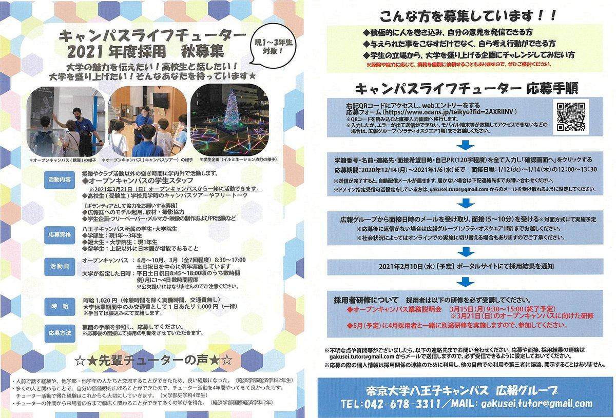 八王子 ポータル 大学 帝京
