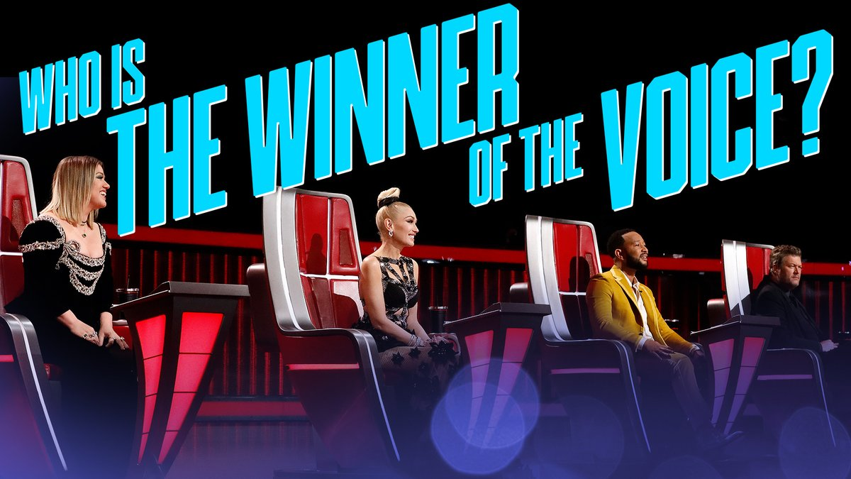 And the WINNER of #TheVoice is… 🥁