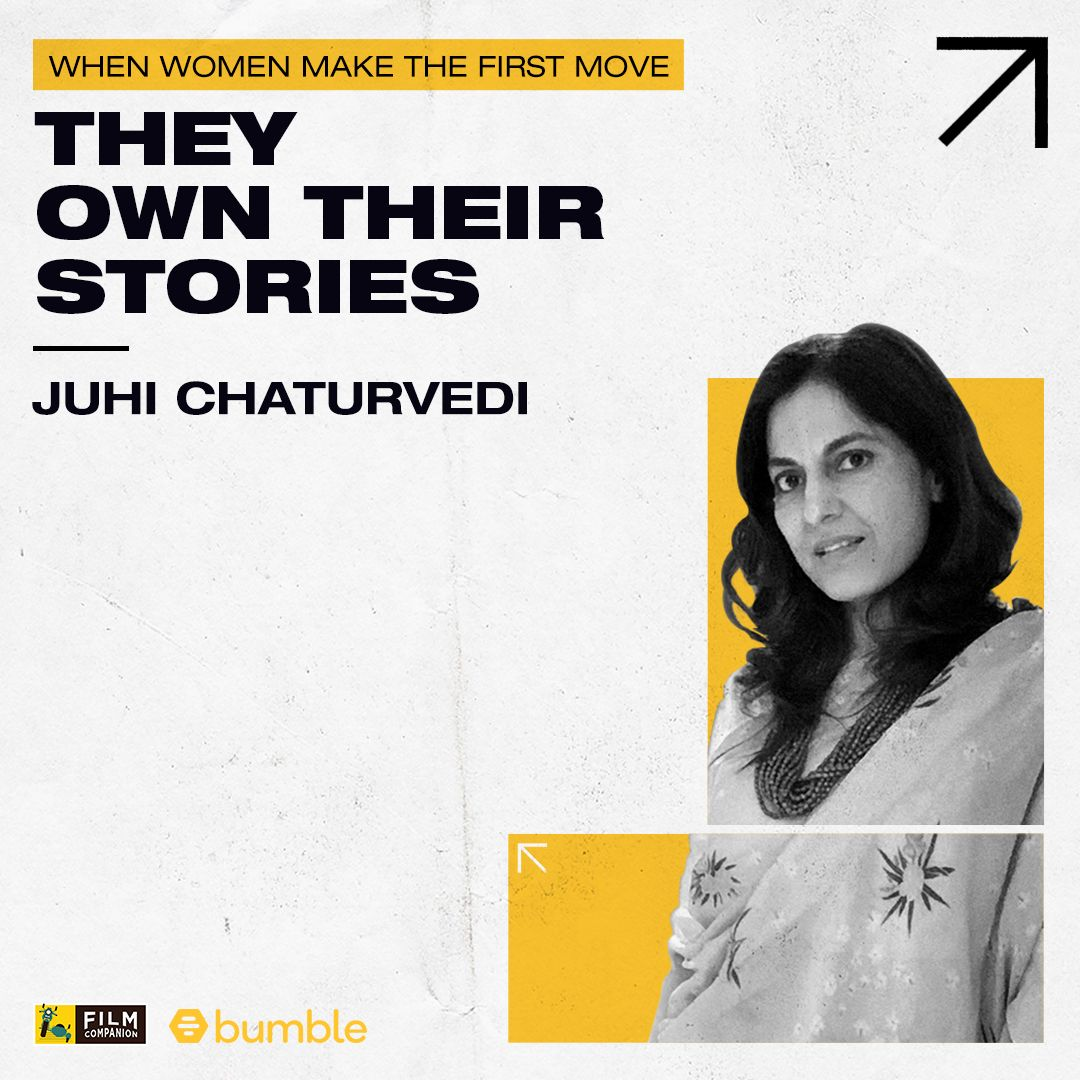 #FCFirstMovers empowered by @bumble: #JuhiChaturvedi is a celebrated writer in advertising & films. Her body of work includes films like #October, #VickyDonor, #Piku & #GulaboSitabo. Watch her interview now:   #MakeTheFirstMove #BumblePartner