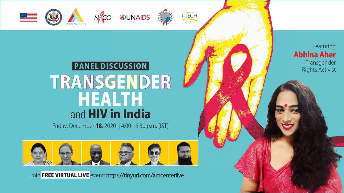 Panel Discussion on Transgender Health and HIV in India #WorldAIDSday2020 #WorldAIDSday #AIDS #HIV #hivawareness #HIVandAIDSawareness #StayAware  #AIDSAwarenessDay #naco #LivingWithHIV #nacoindia #GlobalSolidaritySharedResponsibility @rajeev_ias  @BannaGupta76  @NACOINDIA