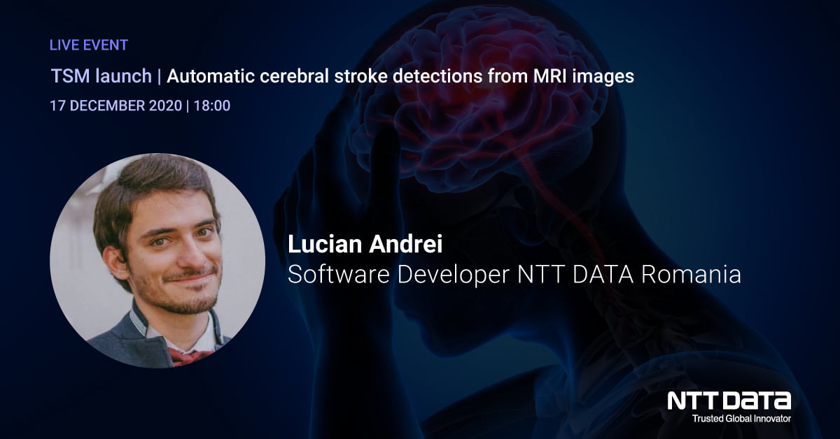 Meet our colleague Lucian Andrei, Software Developer NTT DATA Romania at this month's Today Software Magazine launch. He will speak about neural networks, MRI radiology, and how they fit together. https://t.co/CUypi0DaVm