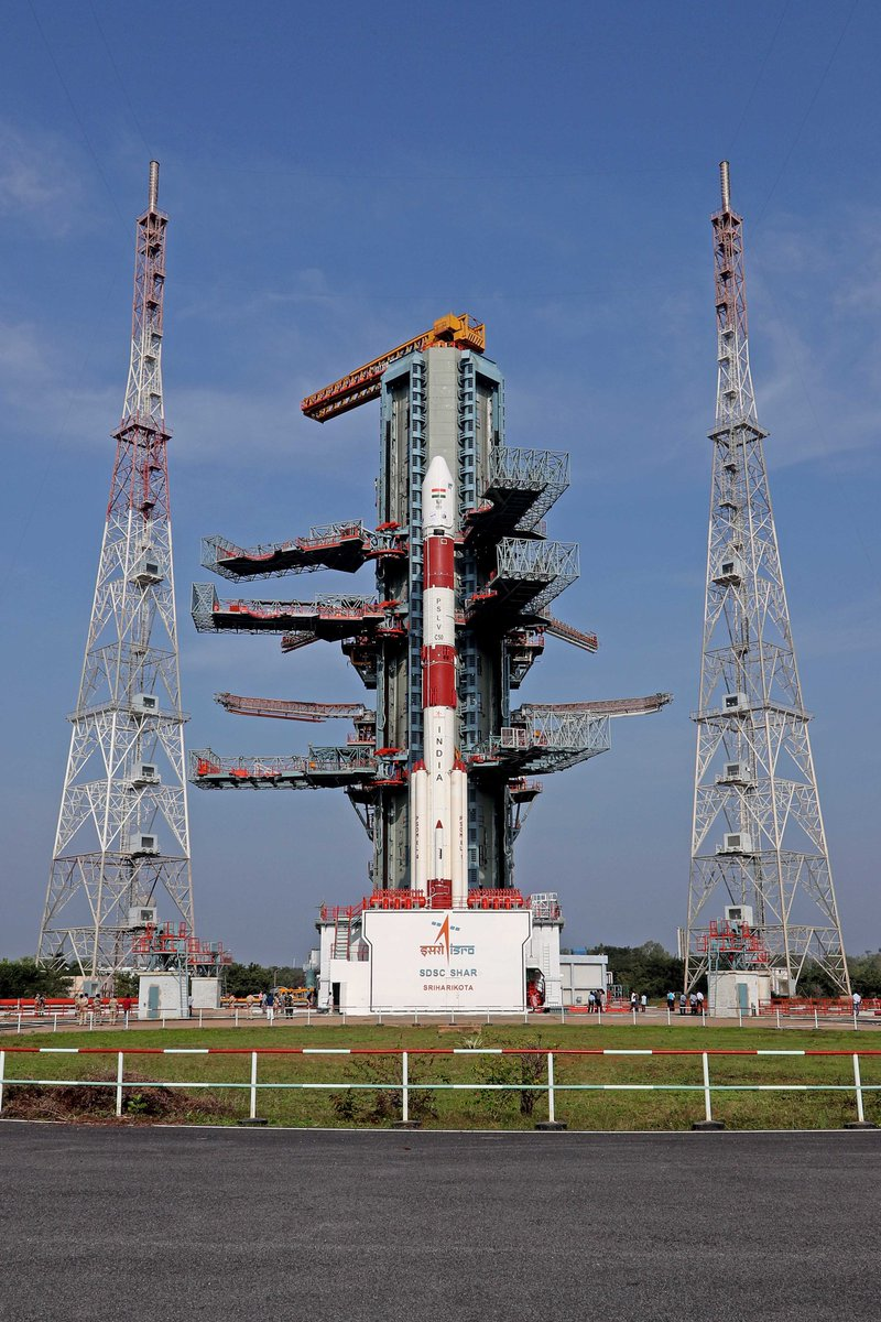 Countdown for the launch of #PSLVC50/#CMS01 mission commenced today at 1441 Hrs (IST) from Satish Dhawan Space Centre (SDSC) SHAR, Sriharikota.   Launch is scheduled tomorrow at 1541 Hrs IST .