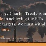 Image for the Tweet beginning: Energy Charter Treaty #ECT reform