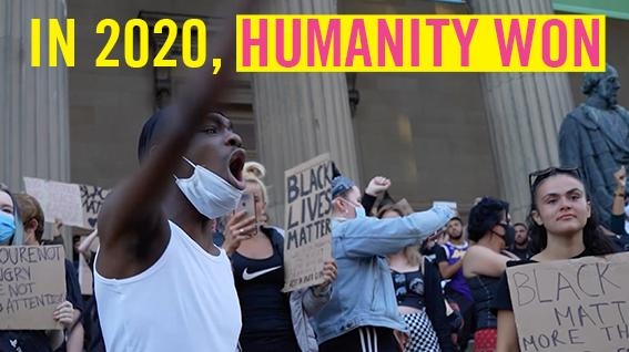 Despite the darkness, 2020 gave us moments where humanity shone through. Together we protested racism, reformed sexual violence laws and freed imprisoned human rights activists. Watch & RT to show how 2020 proved that #HumanityWins