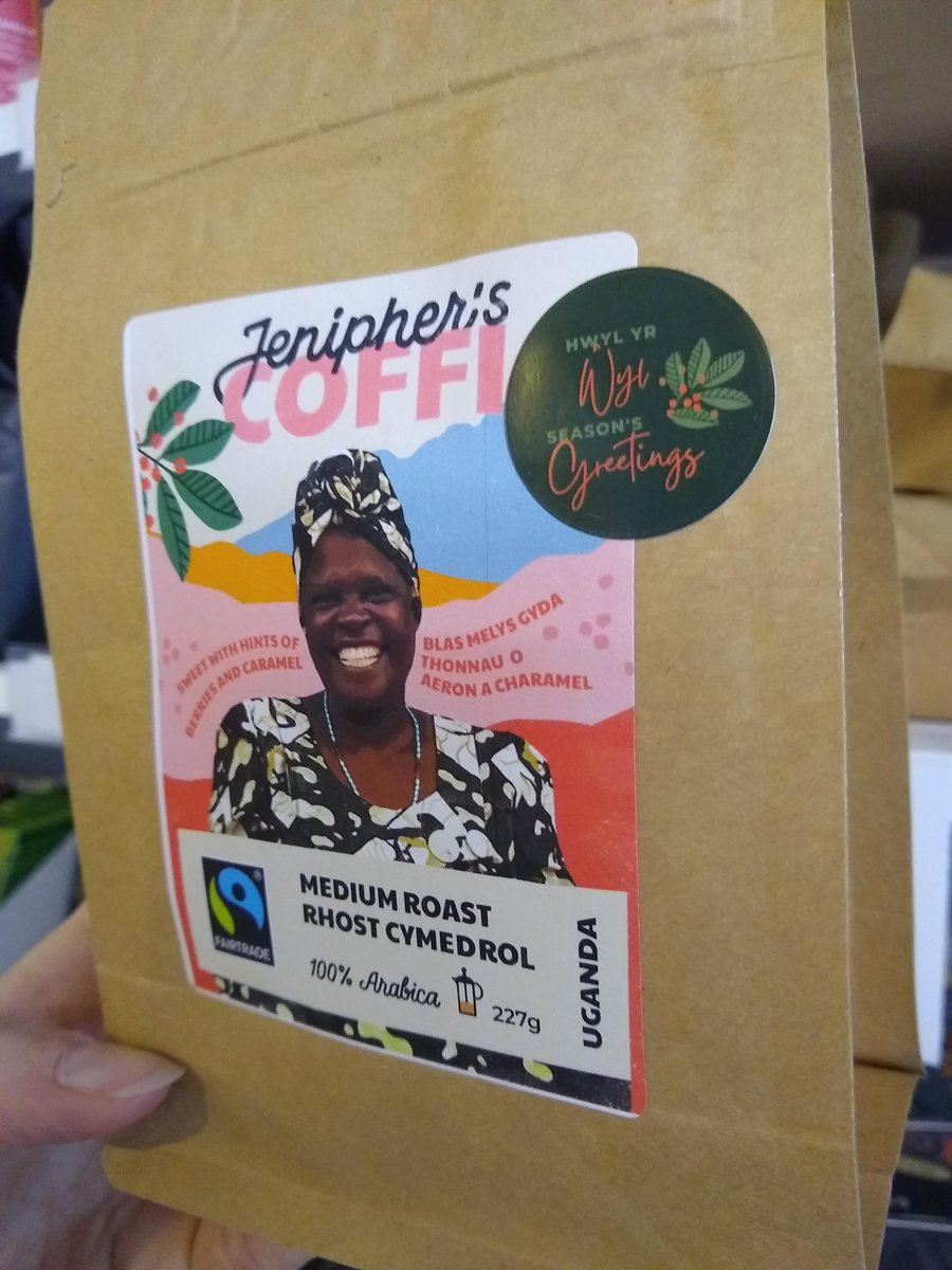 test Twitter Media - Have you tried our amazing new coffee yet? Jenipher's coffee is probably the most ethical coffee in the world! Now with added festive stickers 😀😍 https://t.co/0jux94QK3n