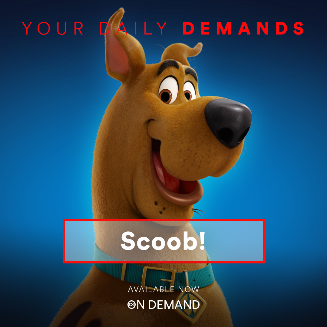 Get ready for an adventure with Scooby & the Mystery Gang! #SCOOB! now available on Virgin TV On Demand