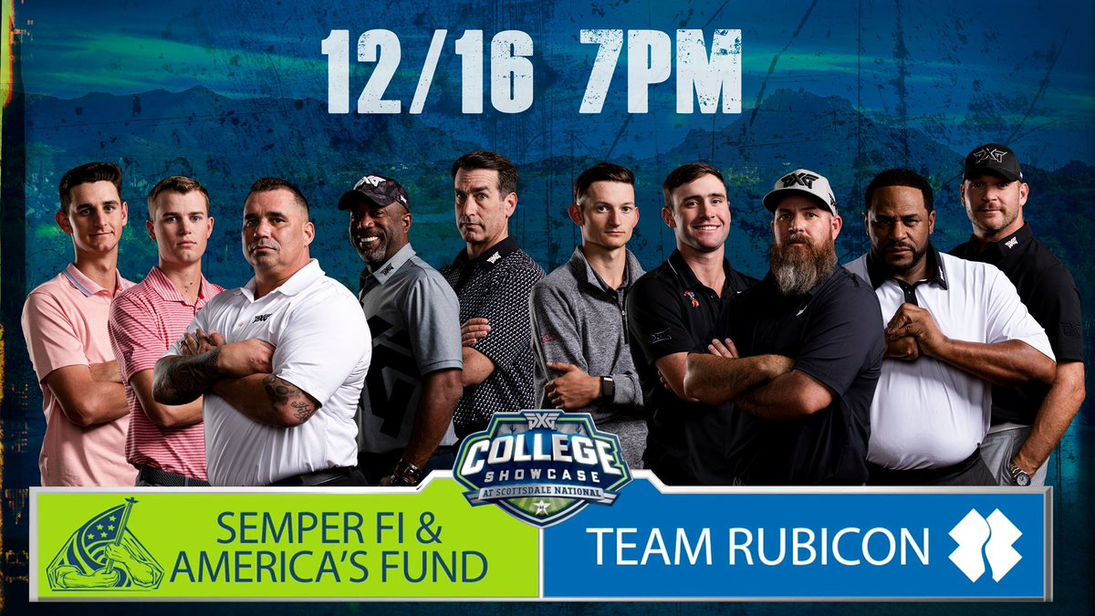 What a good time playing golf for an amazing cause! Watch the @CGolfShowcase tonight at 7PM EST on the @GolfChannel!