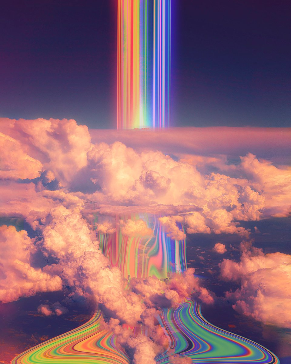 drip 💦   #artistsontwitter #artwork #clouds