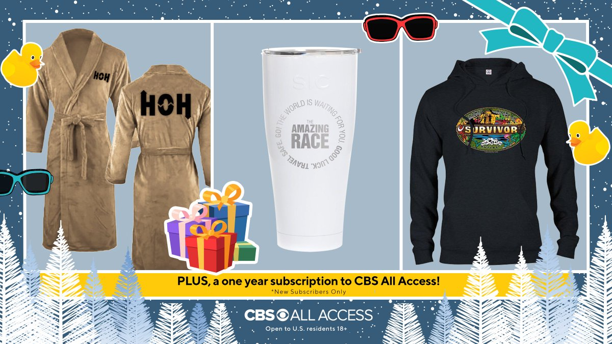 🌟 GIVEAWAY TIME! 🌟Heat things up this season with these #BigBrother, #Survivor, & #AmazingRace goodies!  To enter, do all: 1. Follow @CBSBigBrother, @SurvivorCBS, & @AmazingRaceCBS 2. Retweet this post 3. Comment 🤖 on this post  Rules: