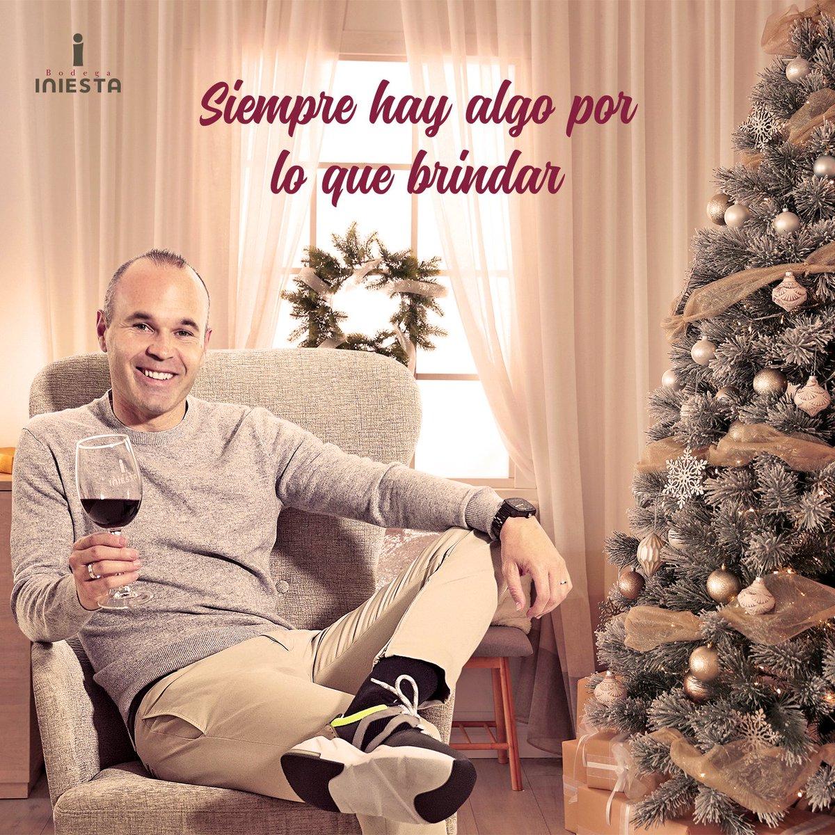 """CONCURSO DE NAVIDAD: """"Siempre hay algo por lo que brindar""""  ¡Entra y descubre cómo participar!👇@andresiniesta8 #Sorteo #Concurso #Navidad2020"""