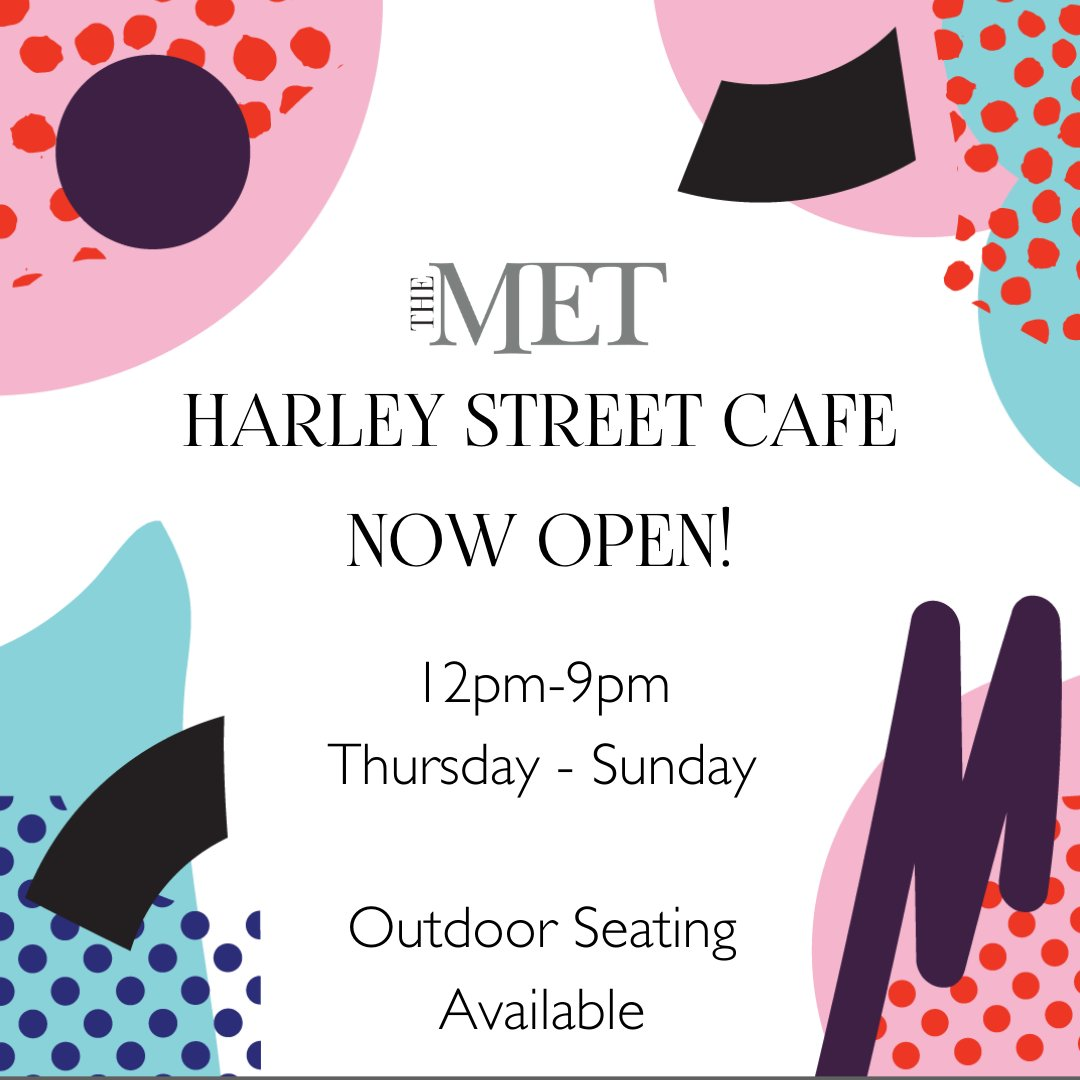 This weekend! 👏💕 Pop by our Outdoor cafe for baps & hot drinks! Add a shot for some festive fun! Thanks to Shane O'Driscoll @ArduStreetArt for creating a design for our menus inspired by the art installation on Harley Street!  #ItsAllComingTogether #SupportLocal