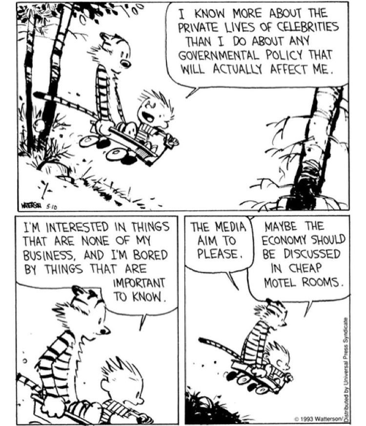Replying to @Calvinn_Hobbes: Now ain't this the truth! #CalvinandHobbes