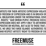Image for the Tweet beginning: Freemuse is concerned about the