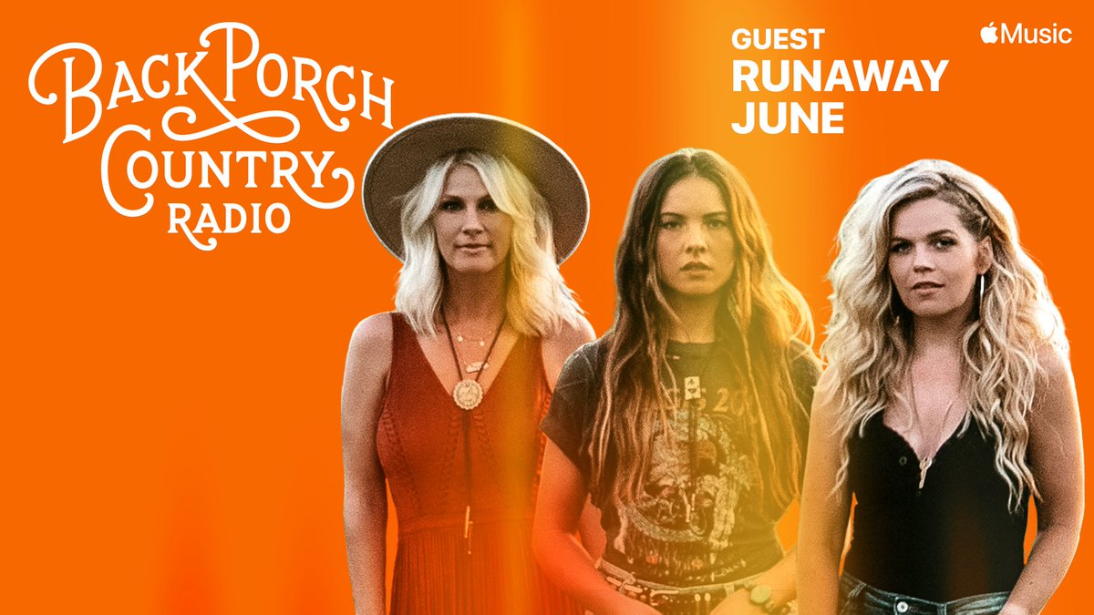 Replying to @runawayjune: We'll be joining @AleciaDavis on #BackPorchCountry Radio this week at 8pm CST, only on Apple Music Country. Check it out!