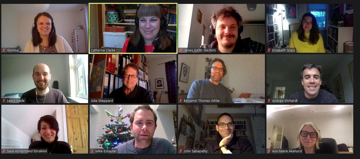 Wonderful meeting today with the lead convenors of our new Partnership Seminars: exciting, timely research interventions, bringing together international partners across disciplines & sectors. Launching with the first seminar 12 Jan - watch this space! bit.ly/2LLrivP