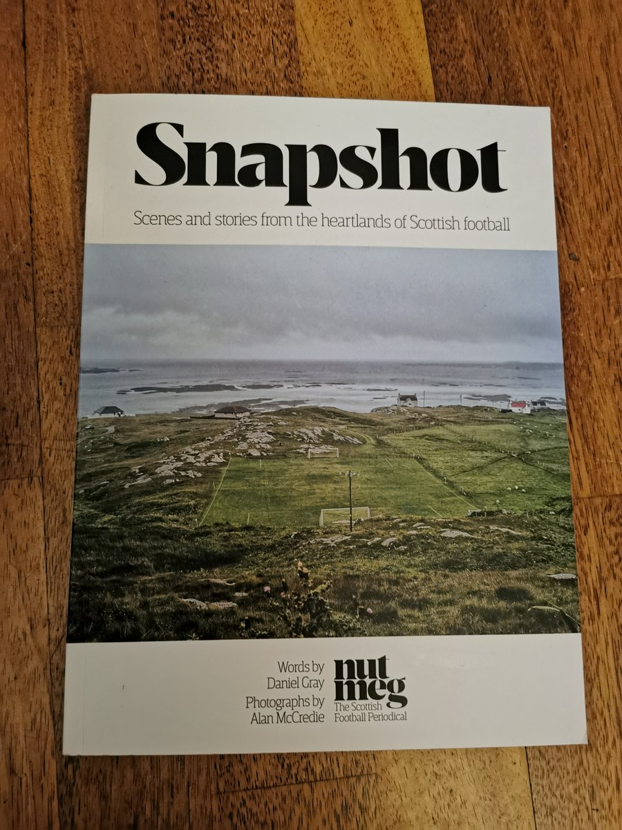 """Halb Vier Fanzine on Twitter: """"📚22 Snapshot by Daniel Gray and Alan  McCredie - From the people behind @NutmegMagazine, this is the perfect  anecdote for people who are missing their football fix."""