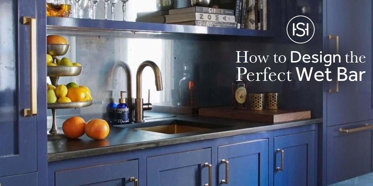 When you have a personal wet bar at home, anytime can be happy hour. Our guide to designing the perfect wet bar shows the kind of faucets, bar sinks, shelving, lighting, and other hardware that makes this space perfectly brilliant. Discover your favorite: https://t.co/G5OqC0W373 https://t.co/jC4LdpEX6Q
