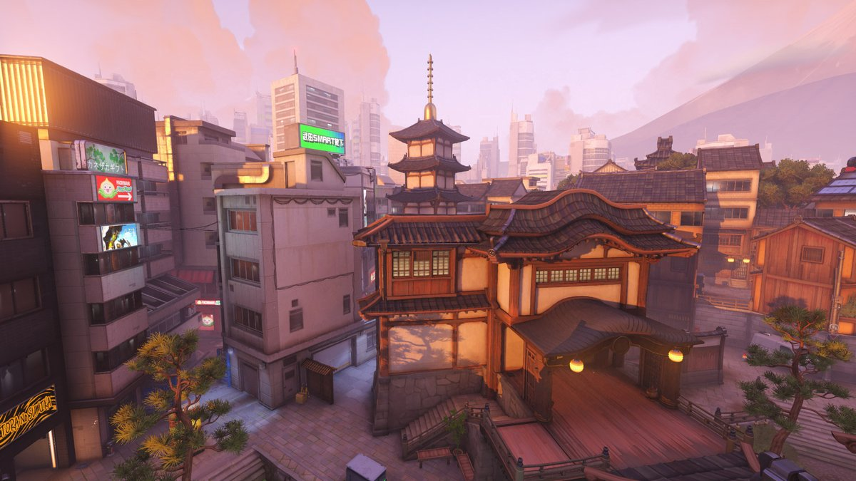 "Naeri X 나에리 on Twitter: ""Overwatch New Map: Kanesaka 🏯… """