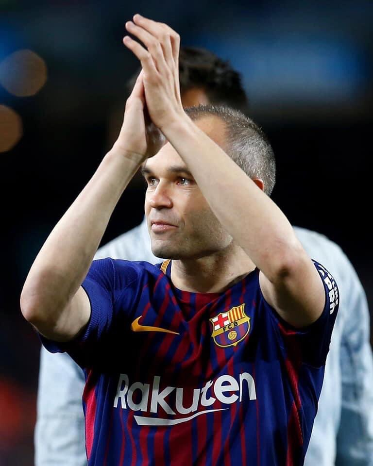 Your magic will always be there. We are already waiting for your return, champion.✨  Wishing you a speedy recovery, Andrés Iniesta! 💪  #LaLigaIcons